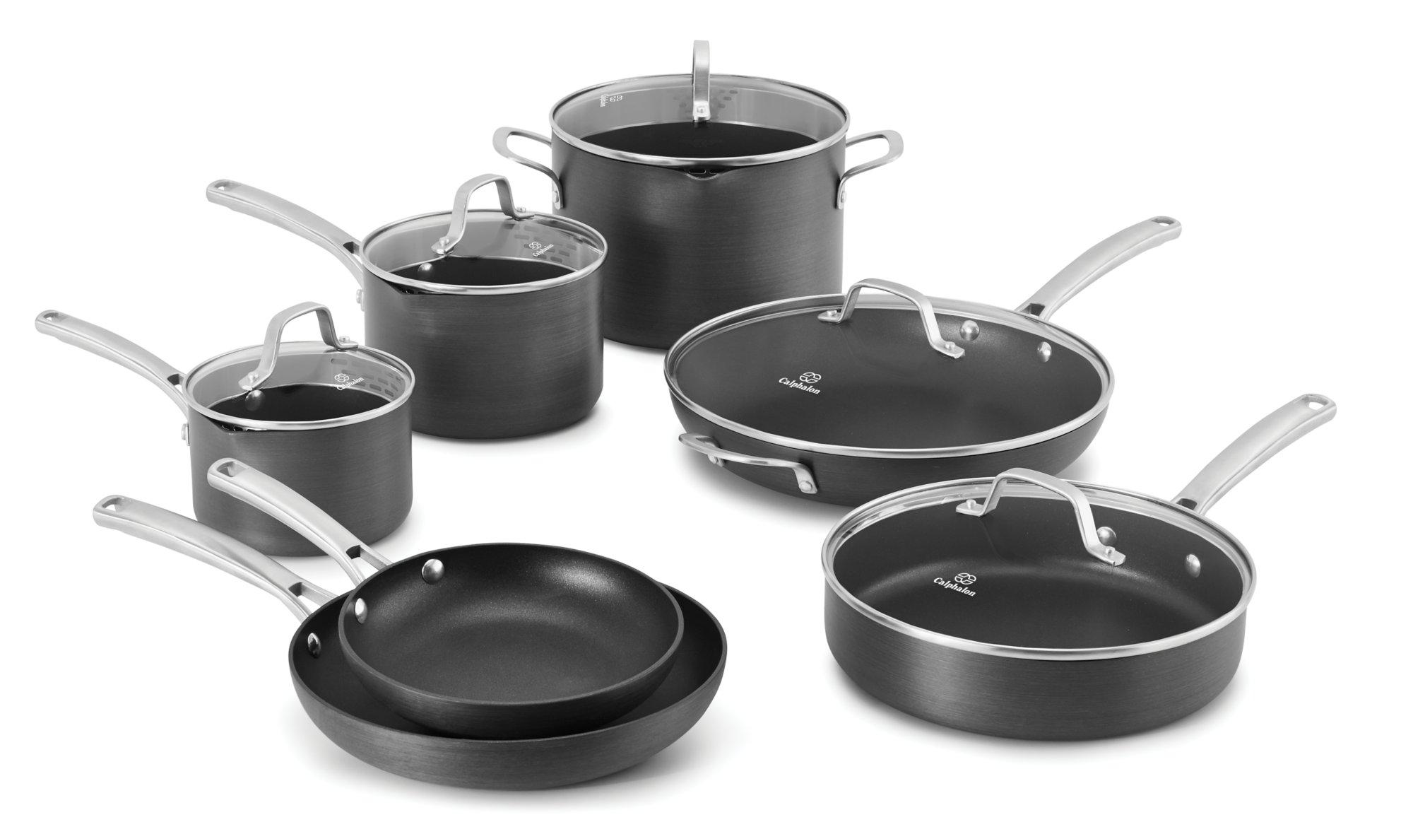 calphalon classic™ nonstick 12-pc. cookware set