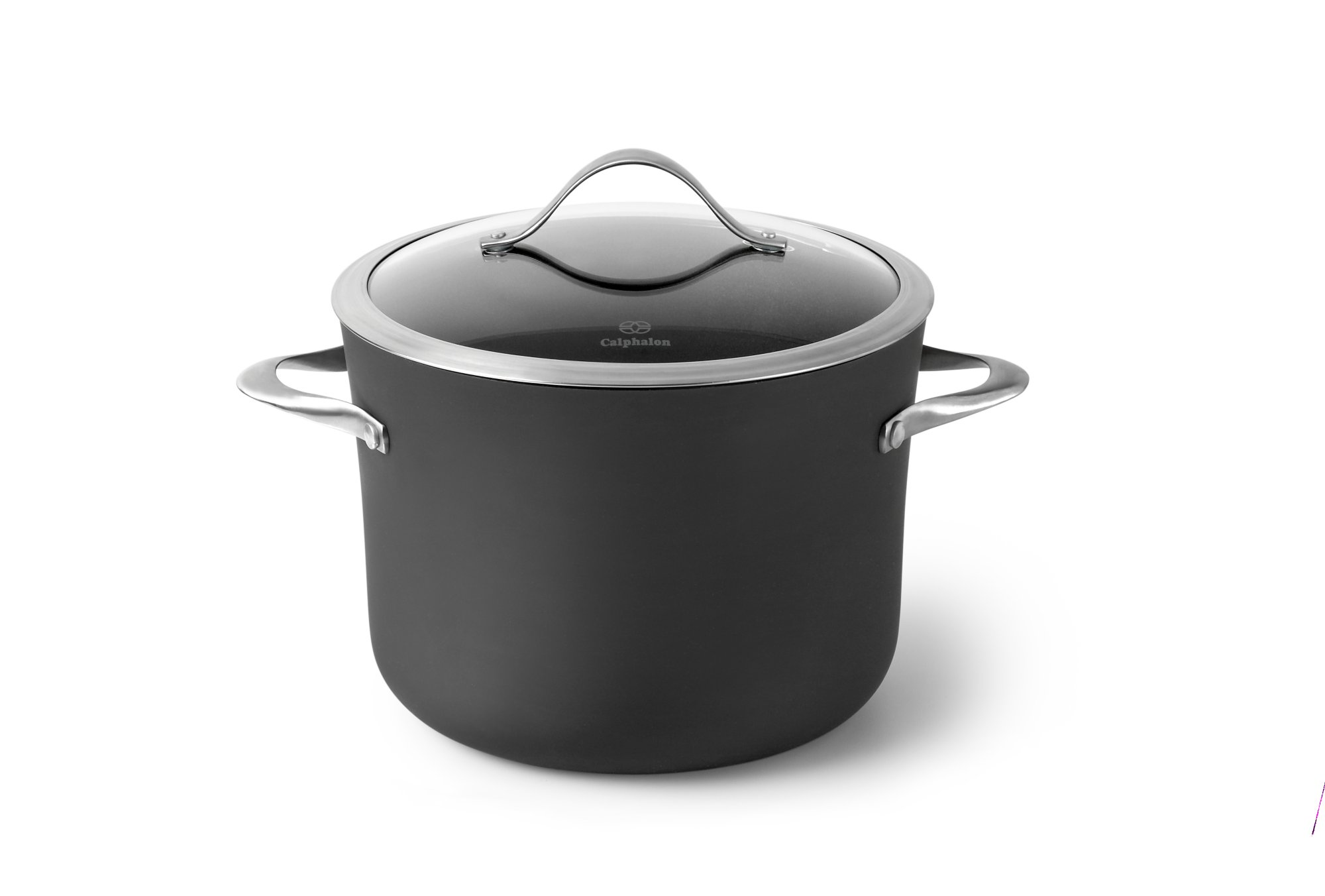 Calphalon Contemporary Nonstick 8 Qt Stock Pot With Cover