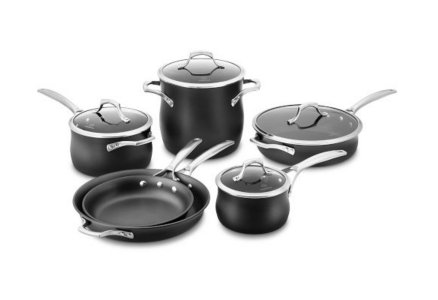 Calphalon Unison Nonstick 10-pc. Cookware Set