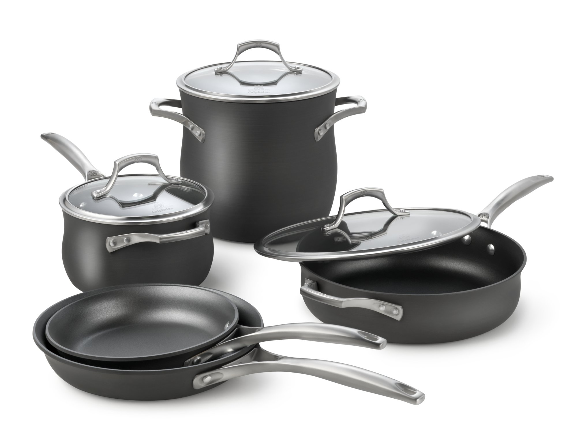 Calphalon Unison Nonstick 8-pc. Cookware Set