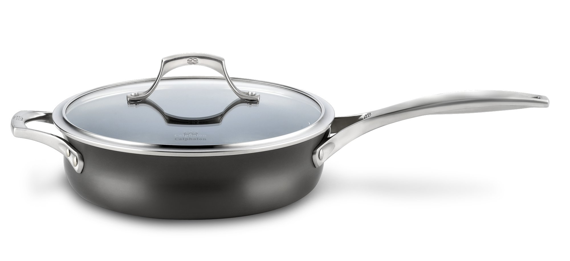Calphalon Unison Nonstick 3-qt. Saute Pan with Cover
