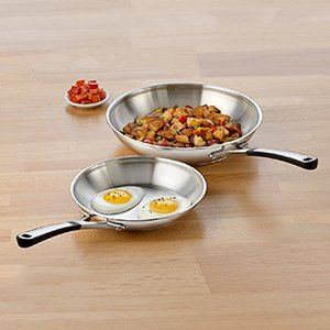 Simply Calphalon Stainless Steel 10 Pc Cookware Set