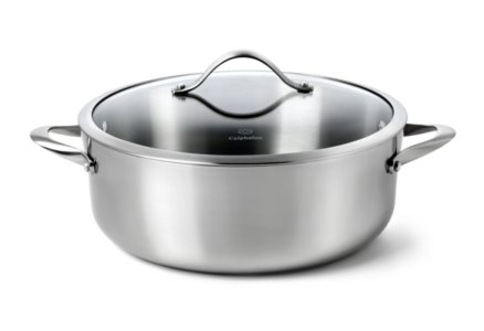 Calphalon Contemporary Stainless 8-qt. Dutch Oven with Cover