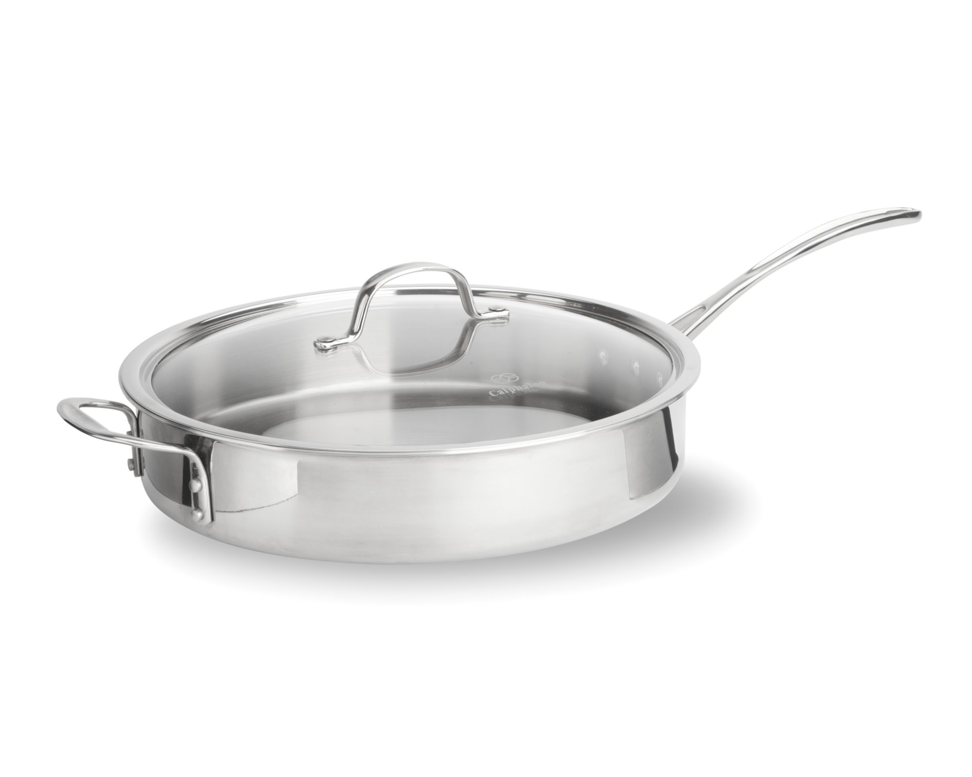 Calphalon Tri-Ply Stainless Steel 5-qt. Saute Pan with Cover