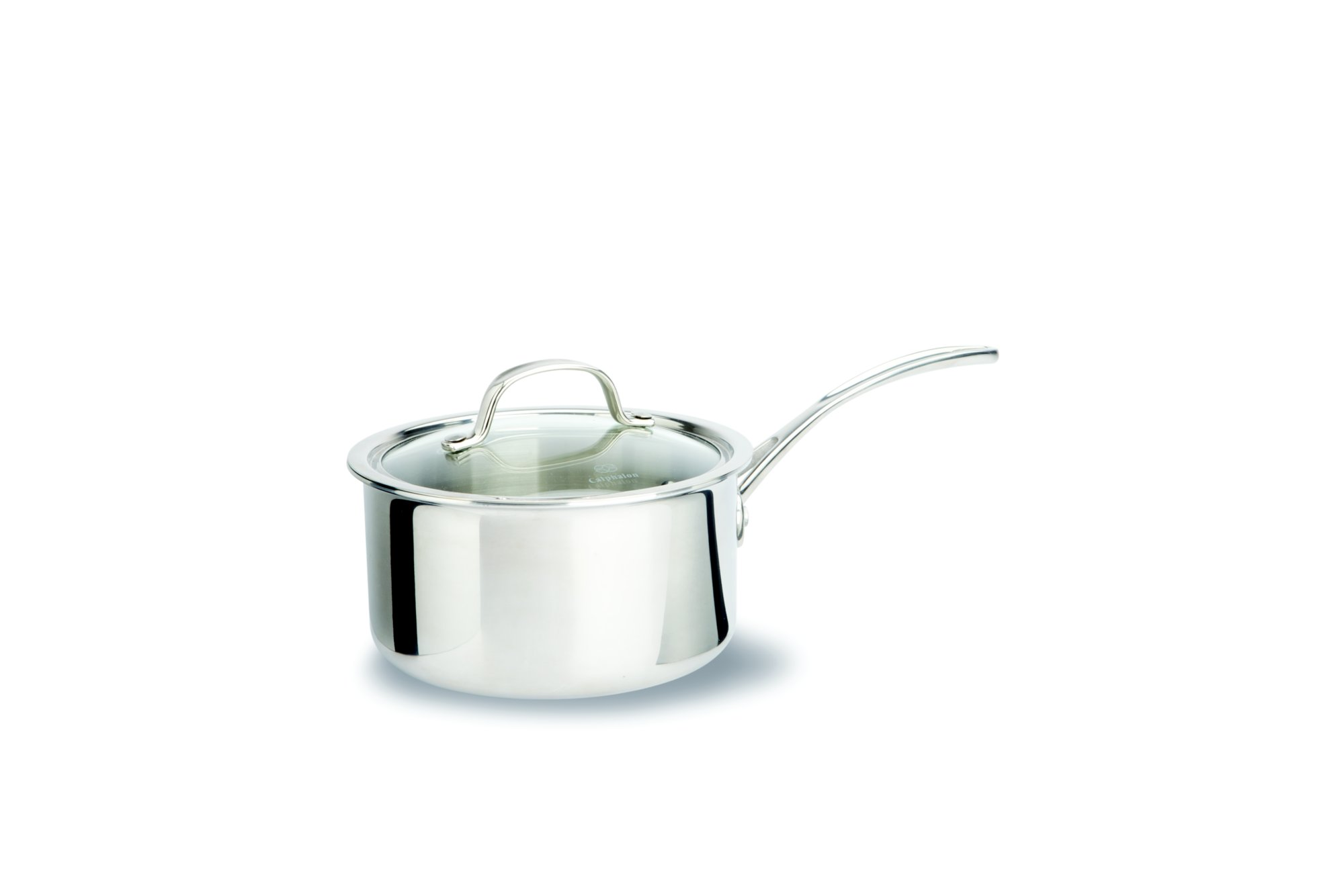 Calphalon Tri-Ply Stainless Steel 2.5-qt. Sauce Pan with Cover