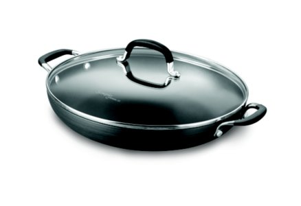 Simply Calphalon Nonstick 12-in. Everyday Pan with Cover