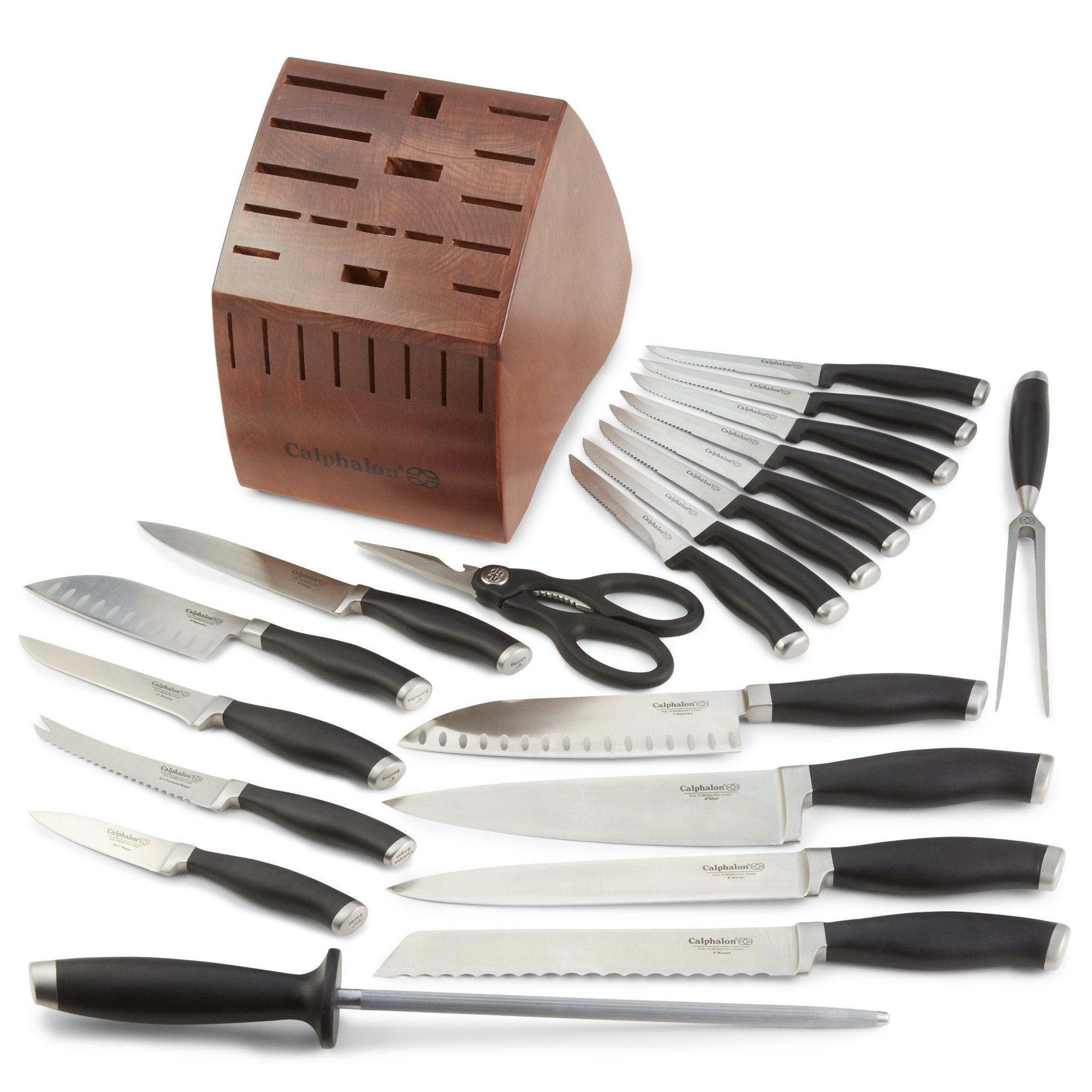 Contemporary Cutlery 21-pc.Set | CalphalonUSAStore