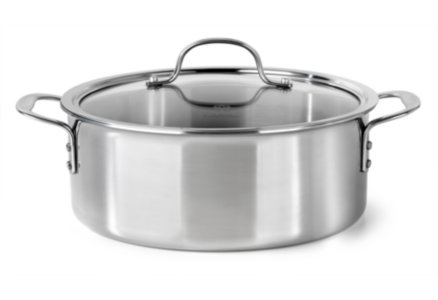Calphalon Tri-Ply Stainless Steel 5-qt. Dutch Oven with Cover
