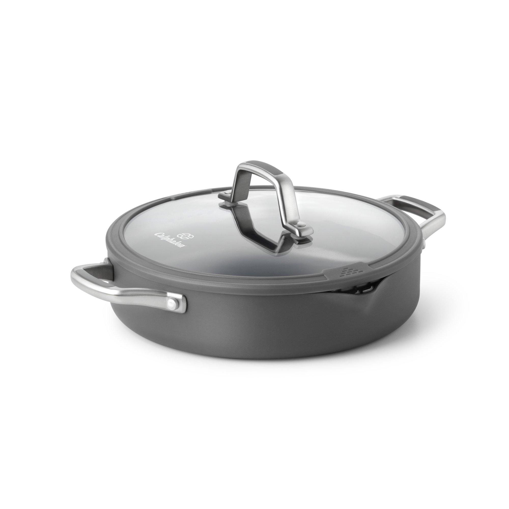 Calphalon Simply Easy System Nonstick 3-Quart Sauteuse and Cover