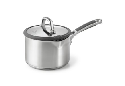 Simply Calphalon Easy System Stainless Steel 2.5-qt. Saucepan with Cover