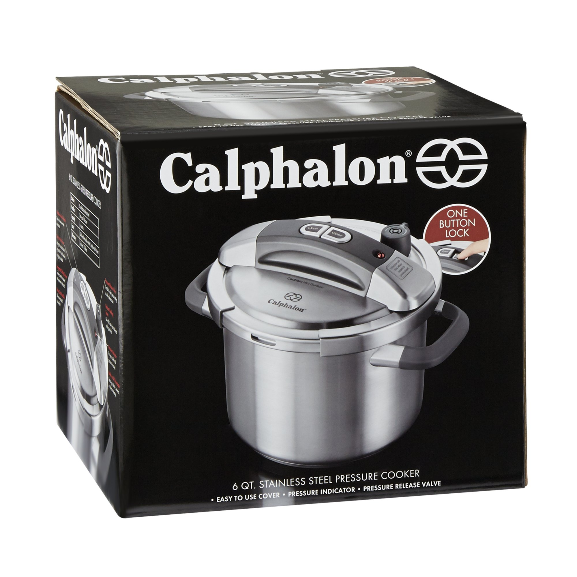 Calphalon 6 Qt. Stainless Steel Pressure Cooker