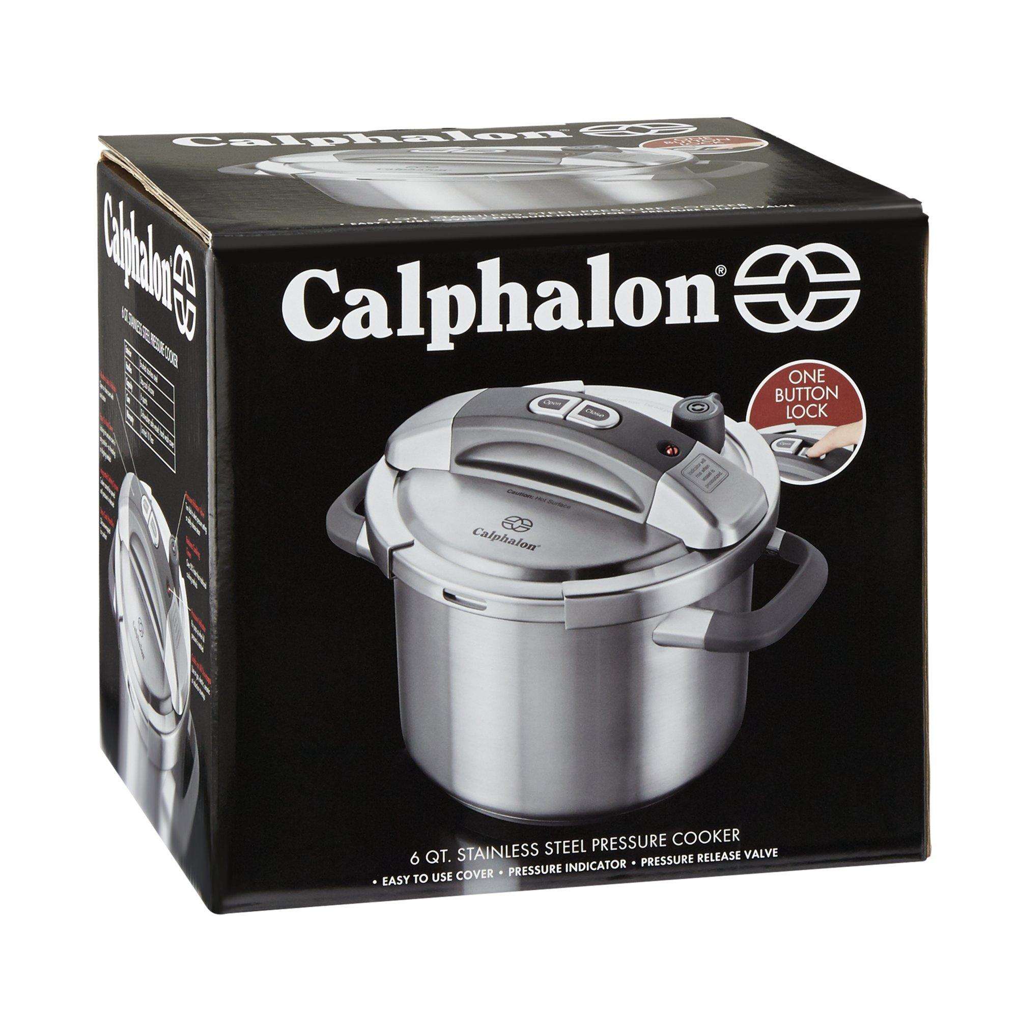 Calphalon 6 Qt. Stainless Steel Pressure Cooker