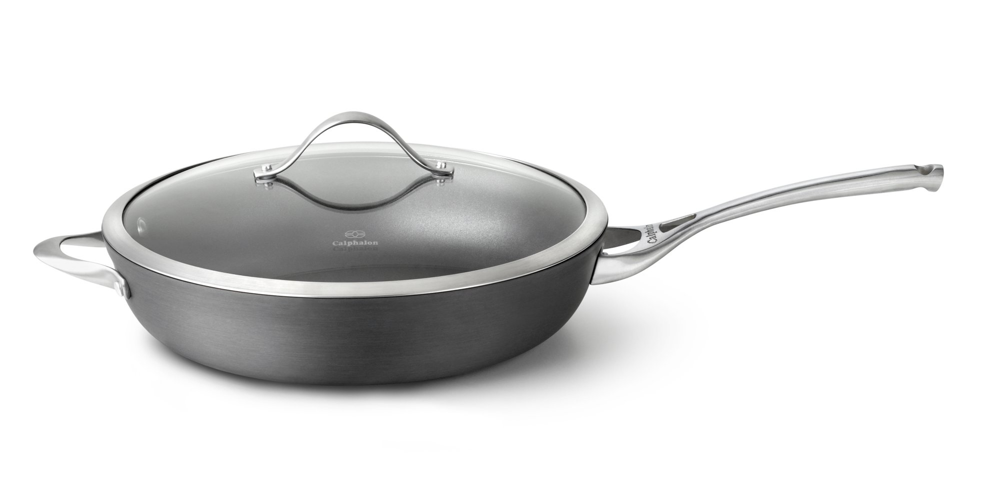 Calphalon Contemporary Nonstick 13-in. Deep Skillet with Cover
