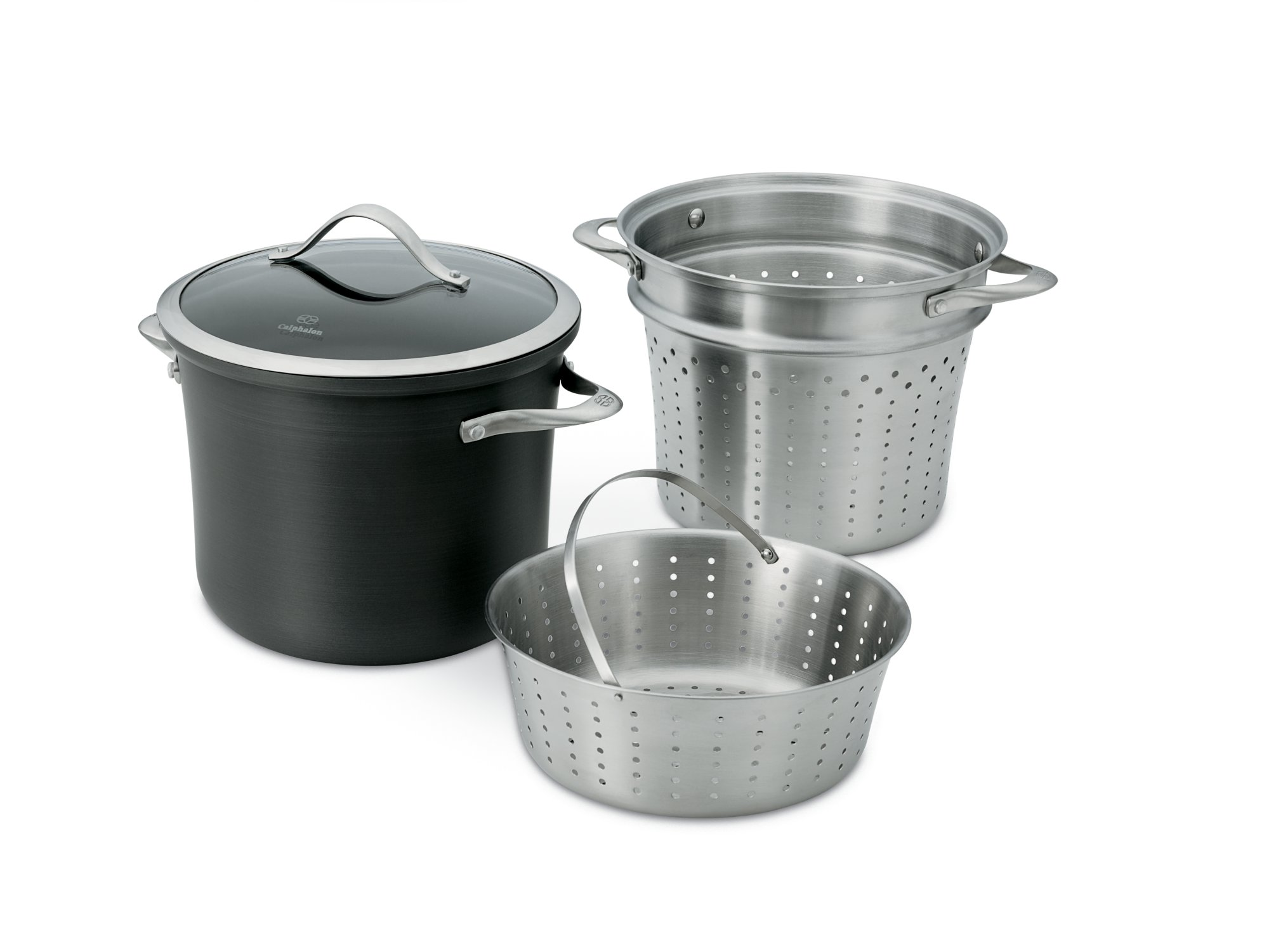 Calphalon Contemporary Nonstick 3-pc. Multi-Pot Set