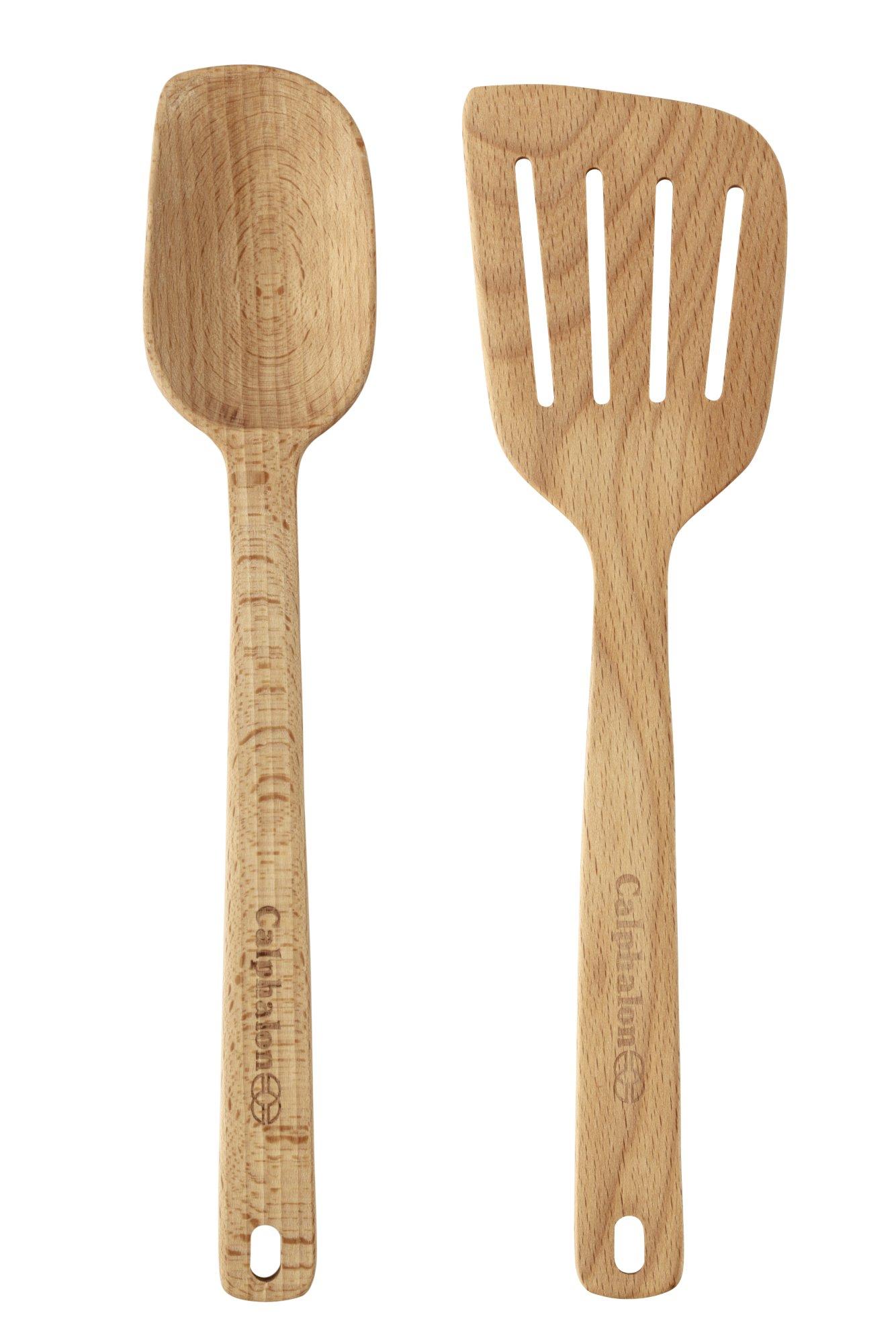 Wood Spoon U0026 Turner Set
