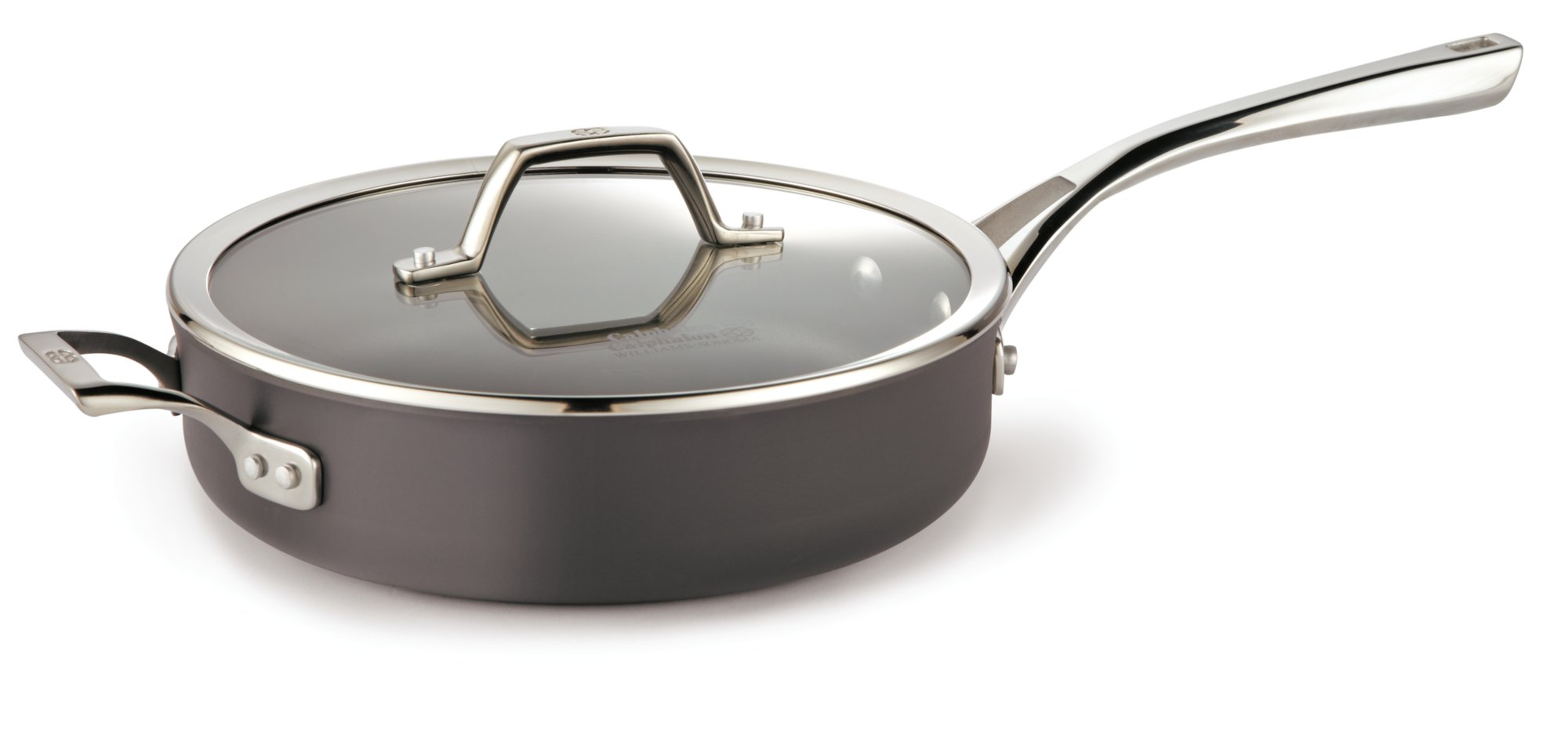 Calphalon Williams-Sonoma Elite Nonstick 3-qt. Saute Pan with Cover