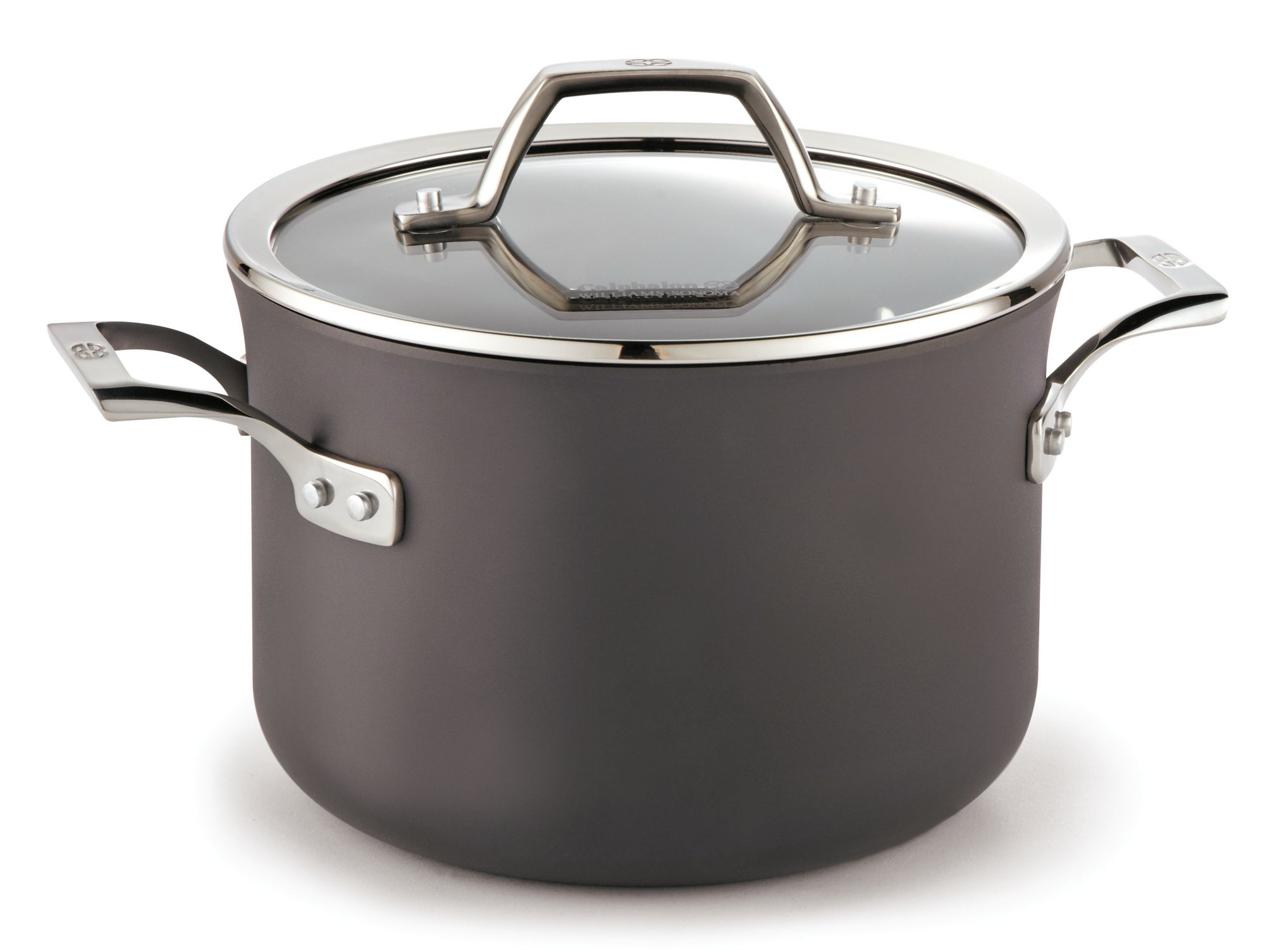 Calphalon Williams-Sonoma Elite Nonstick 4.5-qt. Soup Pot with Cover