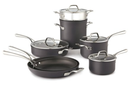 Calphalon Williams-Sonoma Elite Nonstick 11-pc. Cookware Set