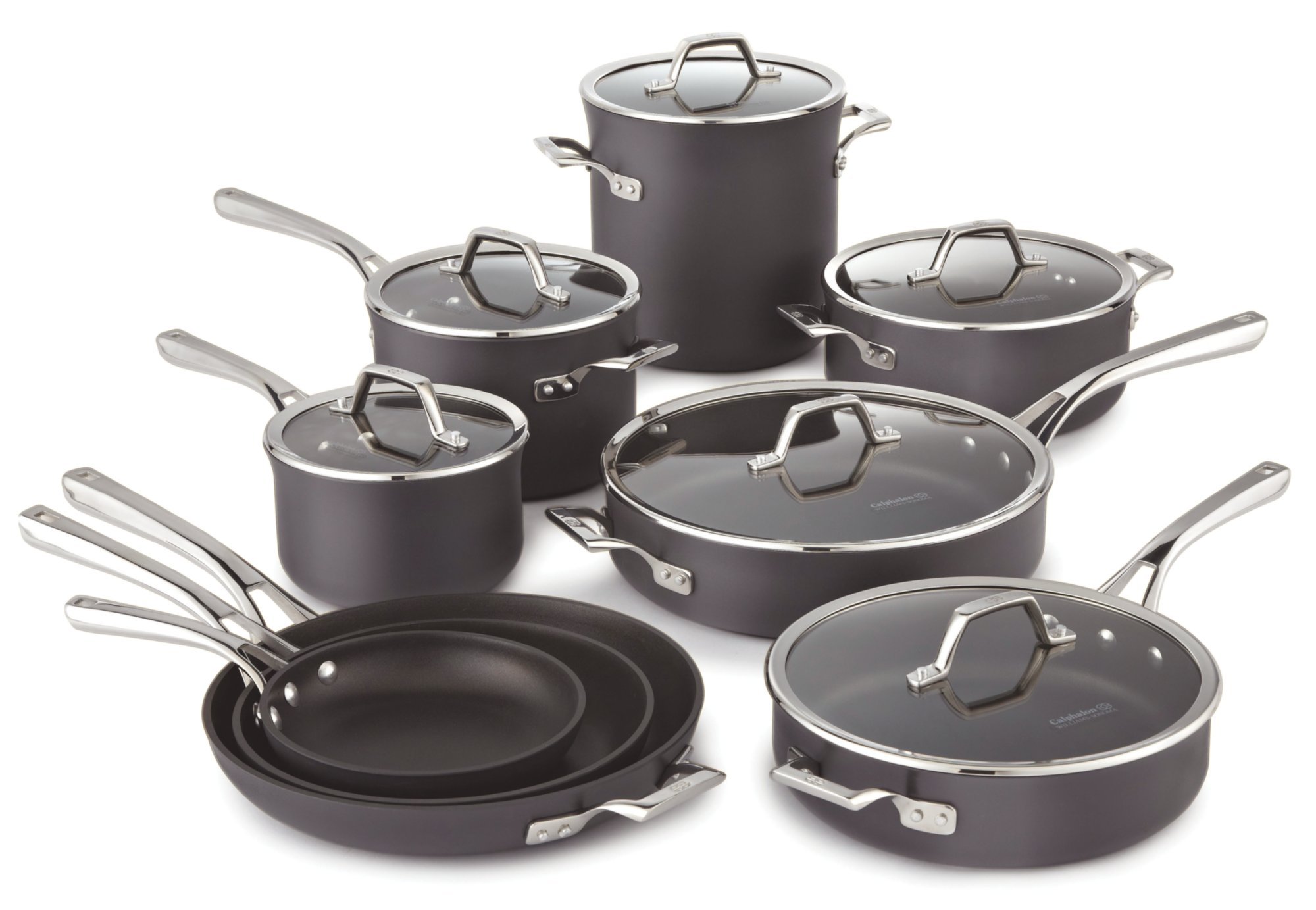 Calphalon Williams-Sonoma Elite Nonstick 15-pc. Cookware Set