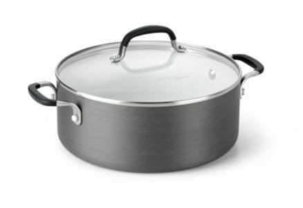 Simply Calphalon Ceramic Nonstick 5-qt. Dutch Oven with Cover