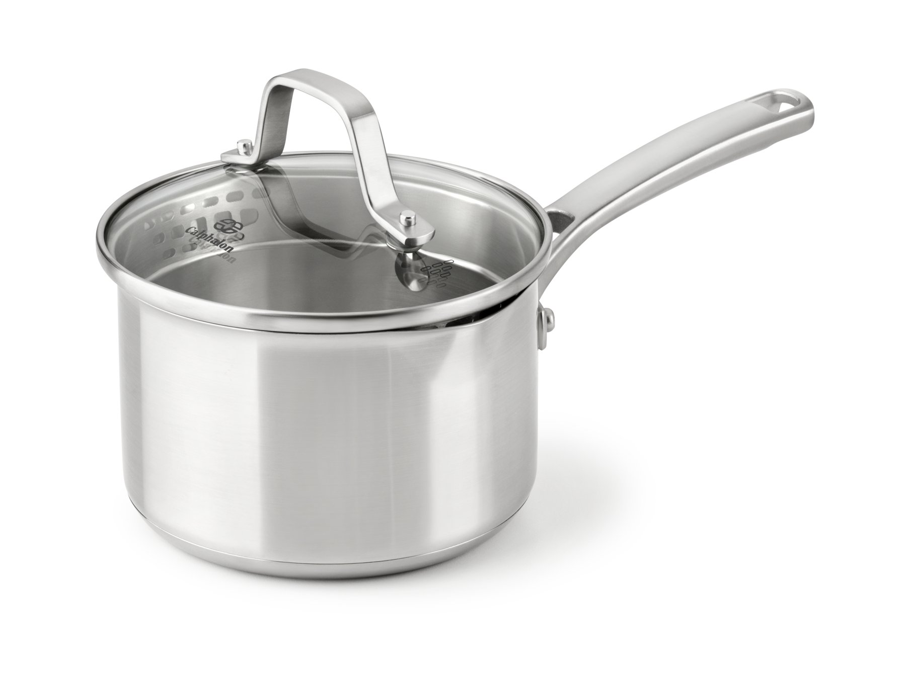 Calphalon Classic Stainless Steel 1.5-qt. Sauce Pan with Cover