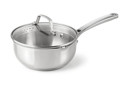 Calphalon Classic Stainless Steel 2-qt. Chef's Pan with Cover