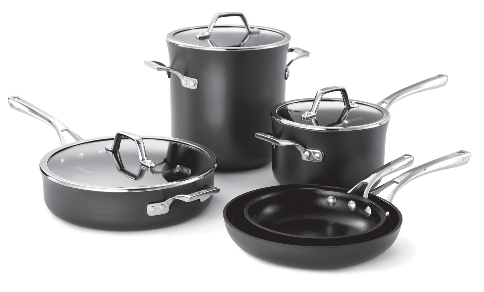 Calphalon Williams-Sonoma Elite Nonstick 8-pc. Cookware Set