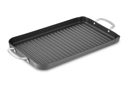 Calphalon Classic Hard-Anodized Nonstick Double Grill