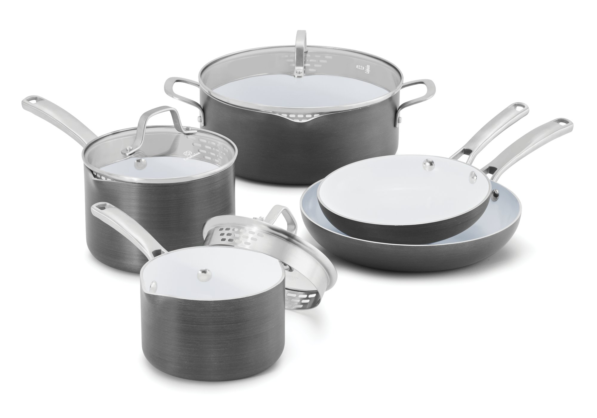Calphalon Classic™ Ceramic Nonstick 8-pc. Cookware Set