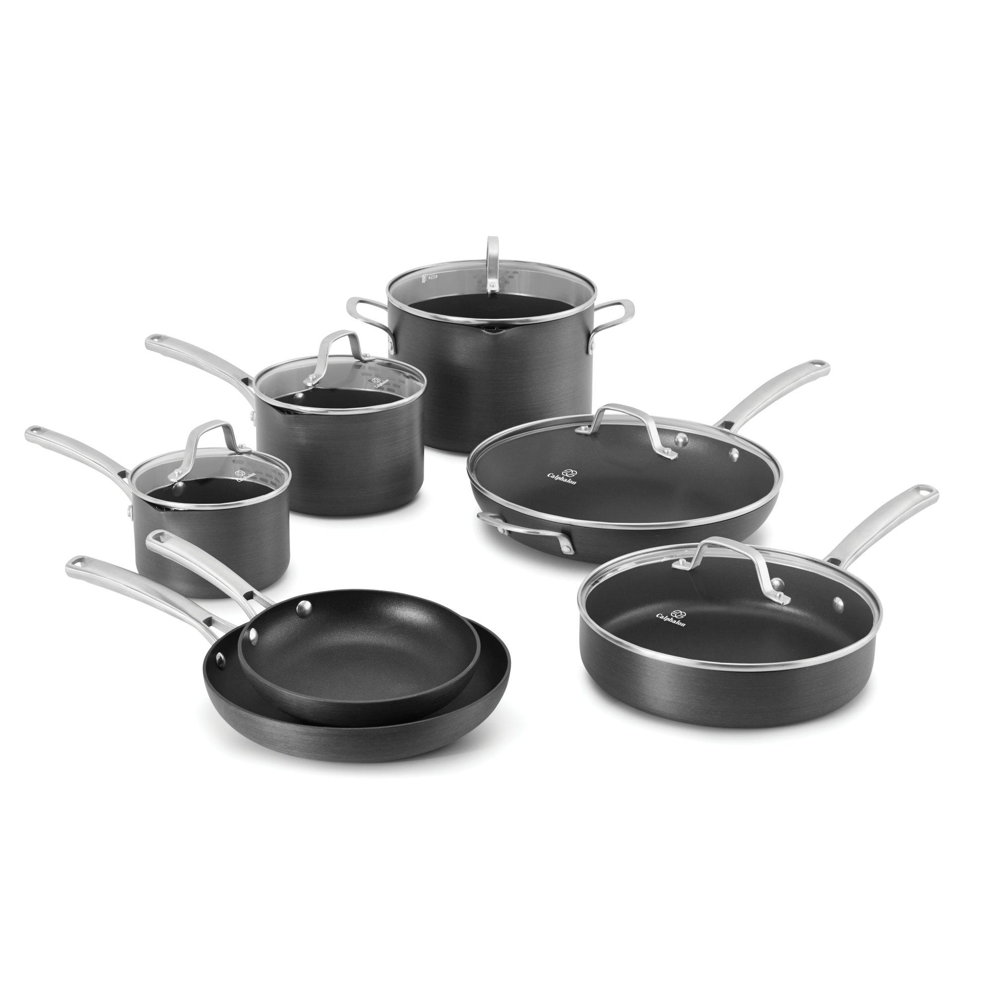 Calphalon Classic Nonstick 12 Pc Cookware Set