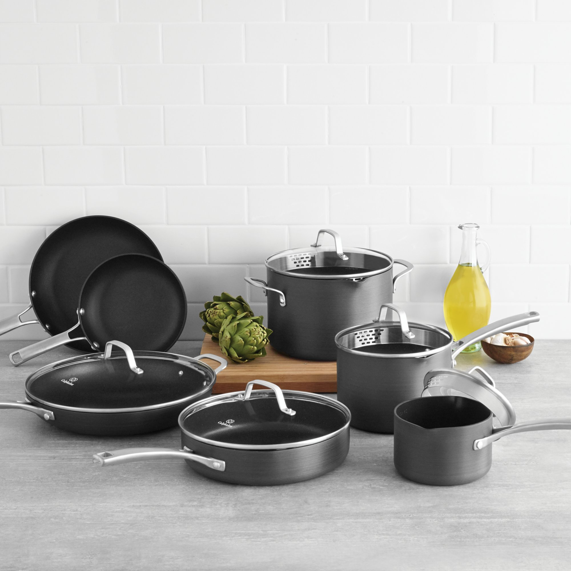 Calphalon Classic Nonstick 12 Pc Cookware Set