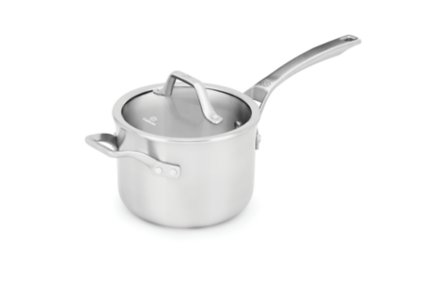 Calphalon Signature™ Stainless Steel 3-qt. Sauce Pan with Cover