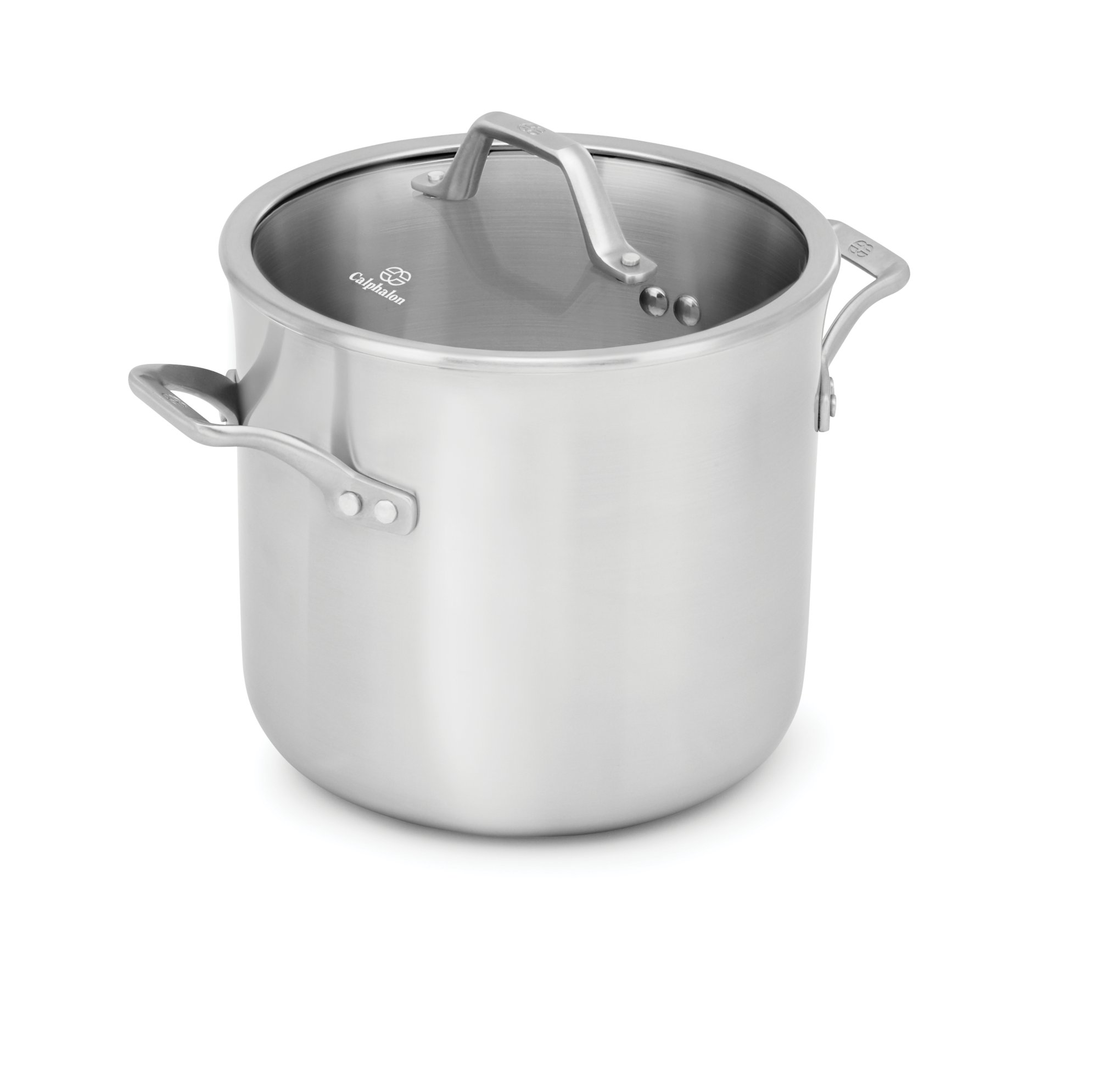 Calphalon Signature™ Stainless Steel 8-qt. Stock Pot with Cover