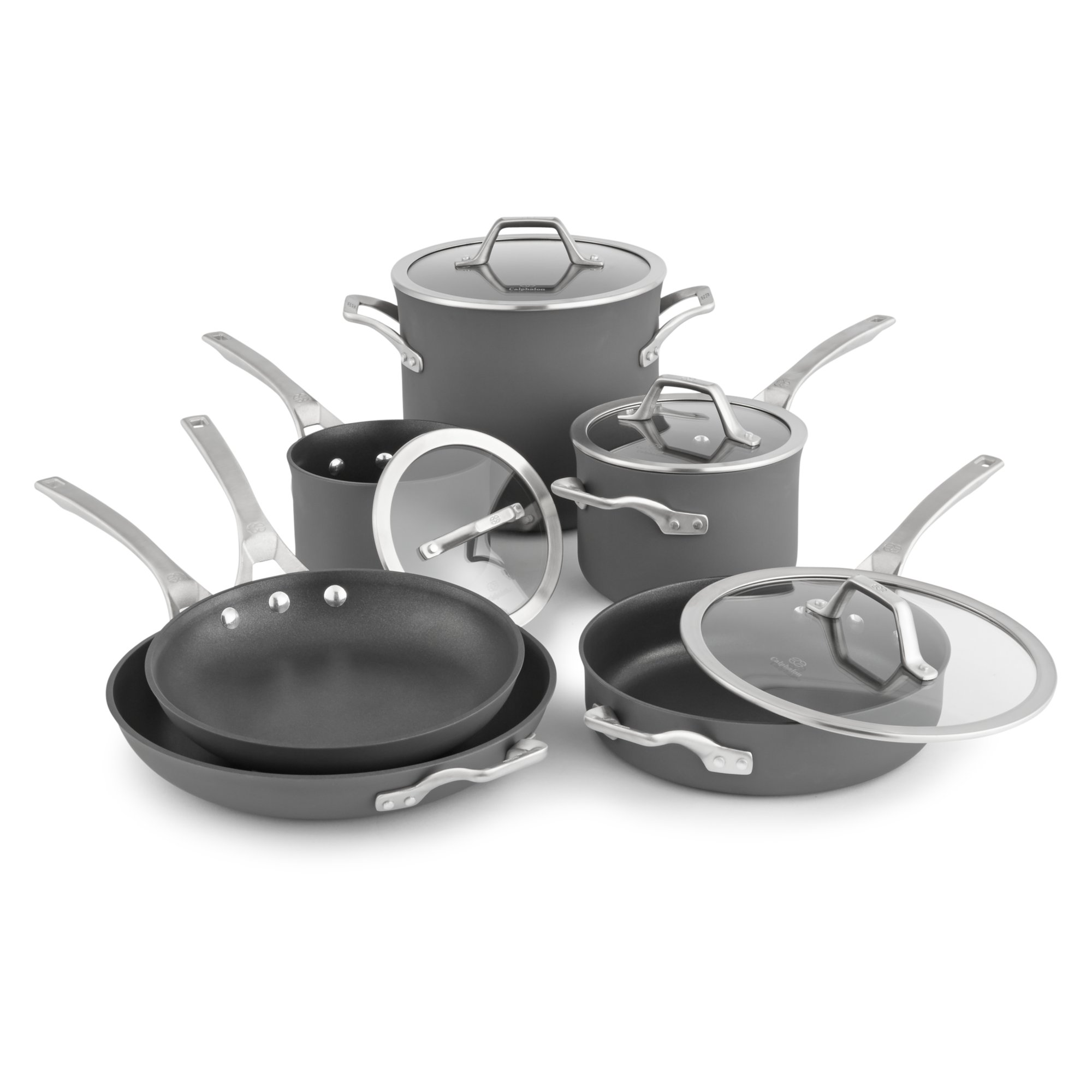 Calphalon Signature Nonstick 10 Pc Cookware Set