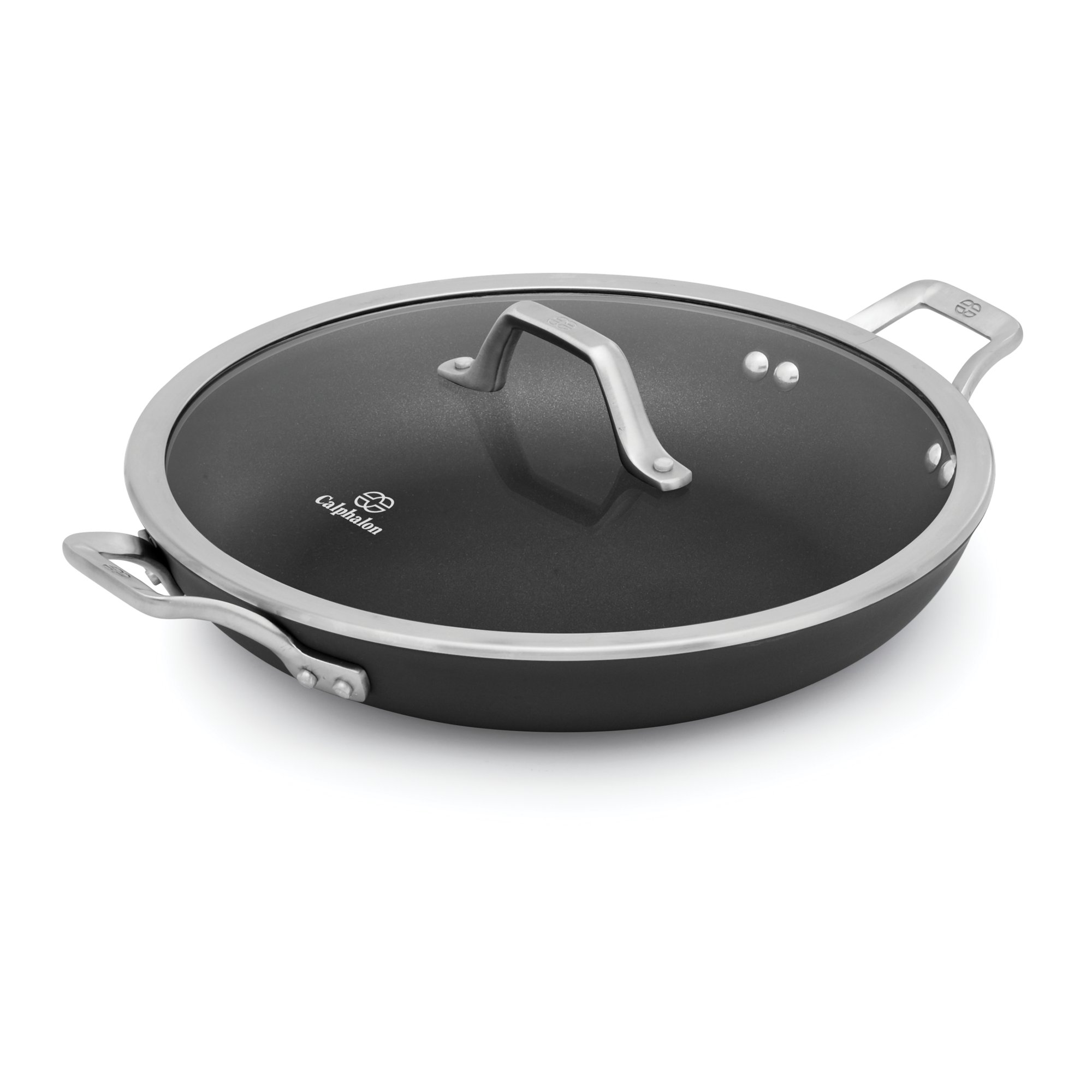 Calphalon Signature Nonstick 12 In Everyday Pan With