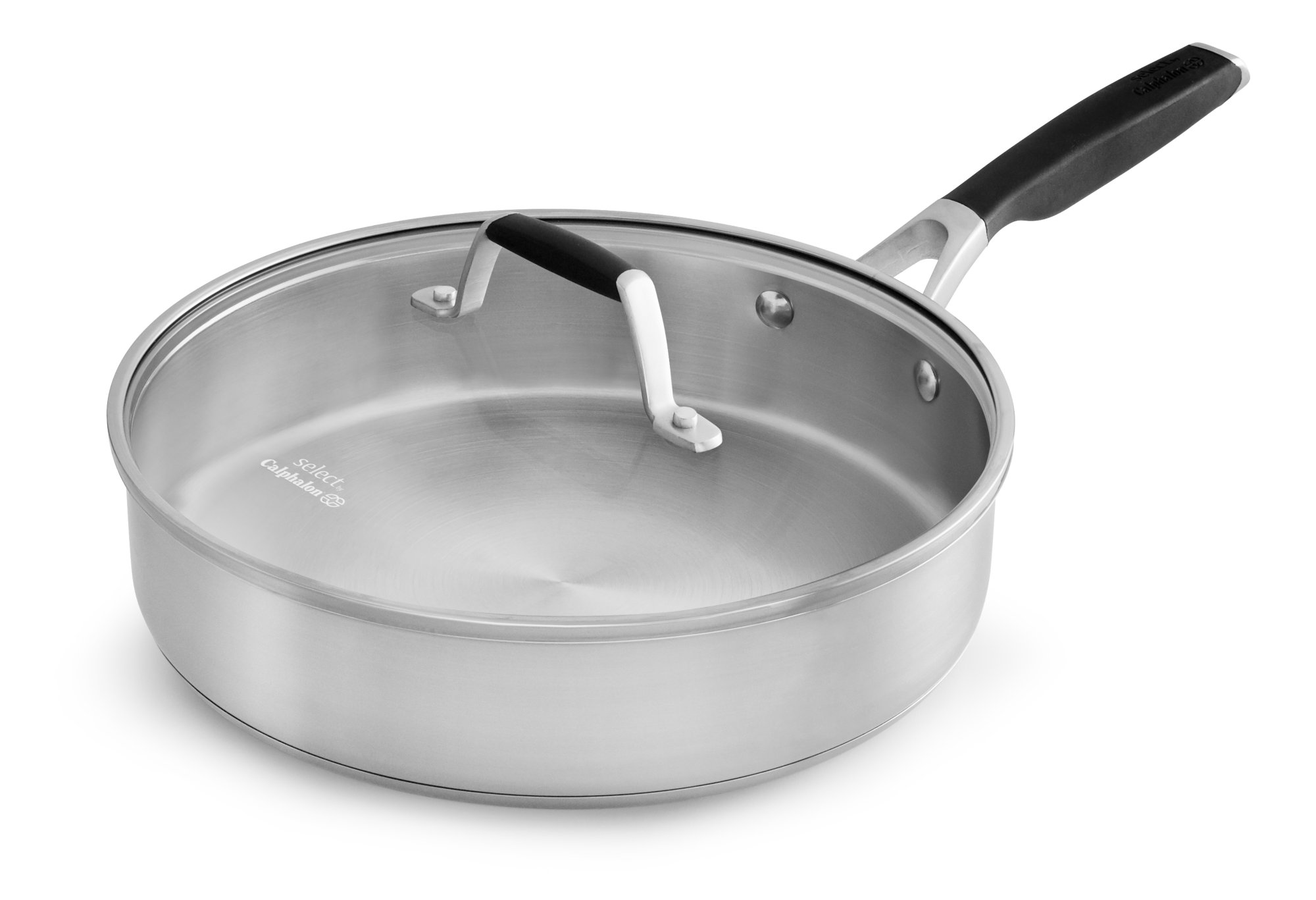 Select by Calphalon Stainless Steel 3-Quart Saute Pan
