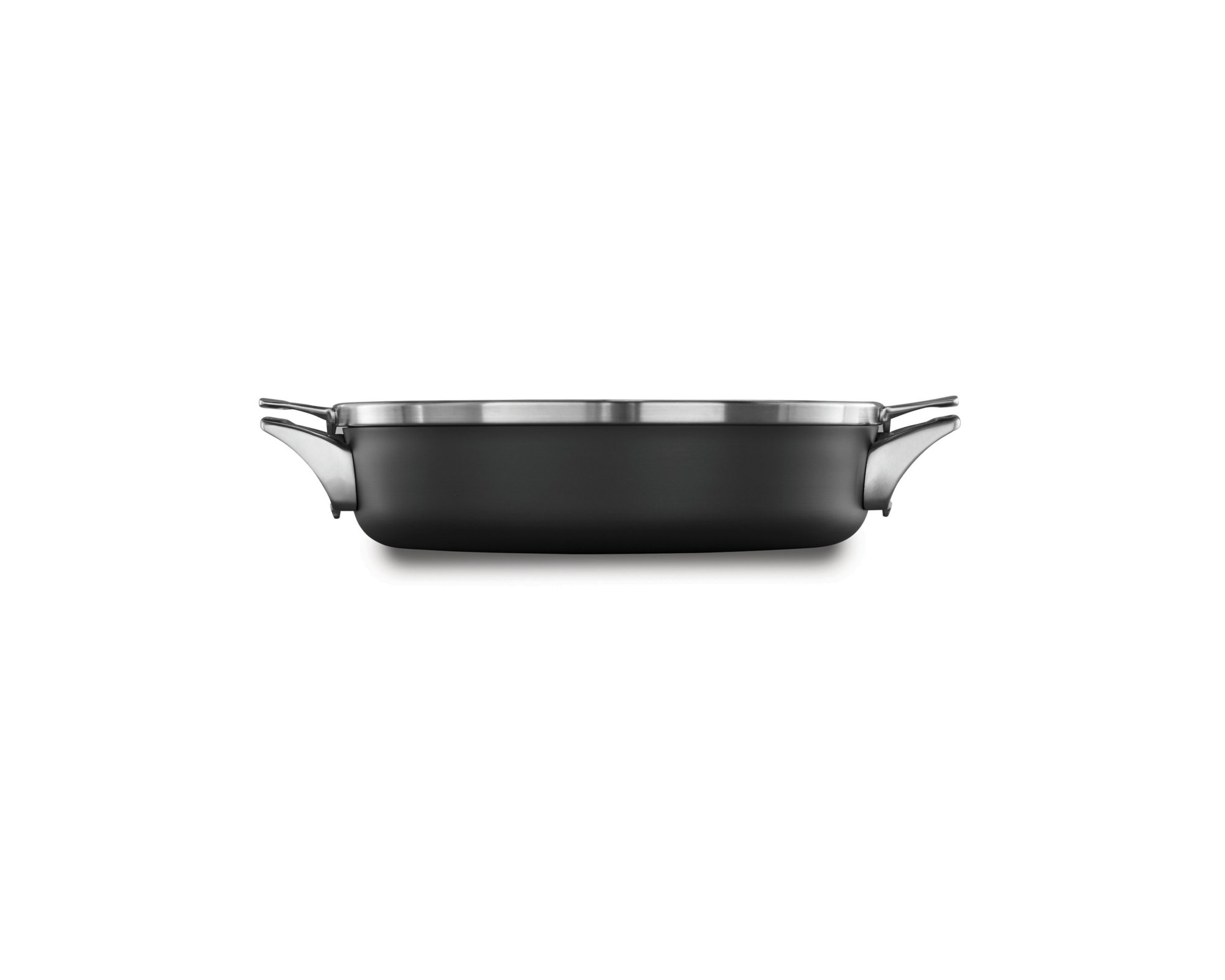 Calphalon Premier™ Space Saving Hard Anodized Nonstick 5 qt. Sauteuse Pan with Cover