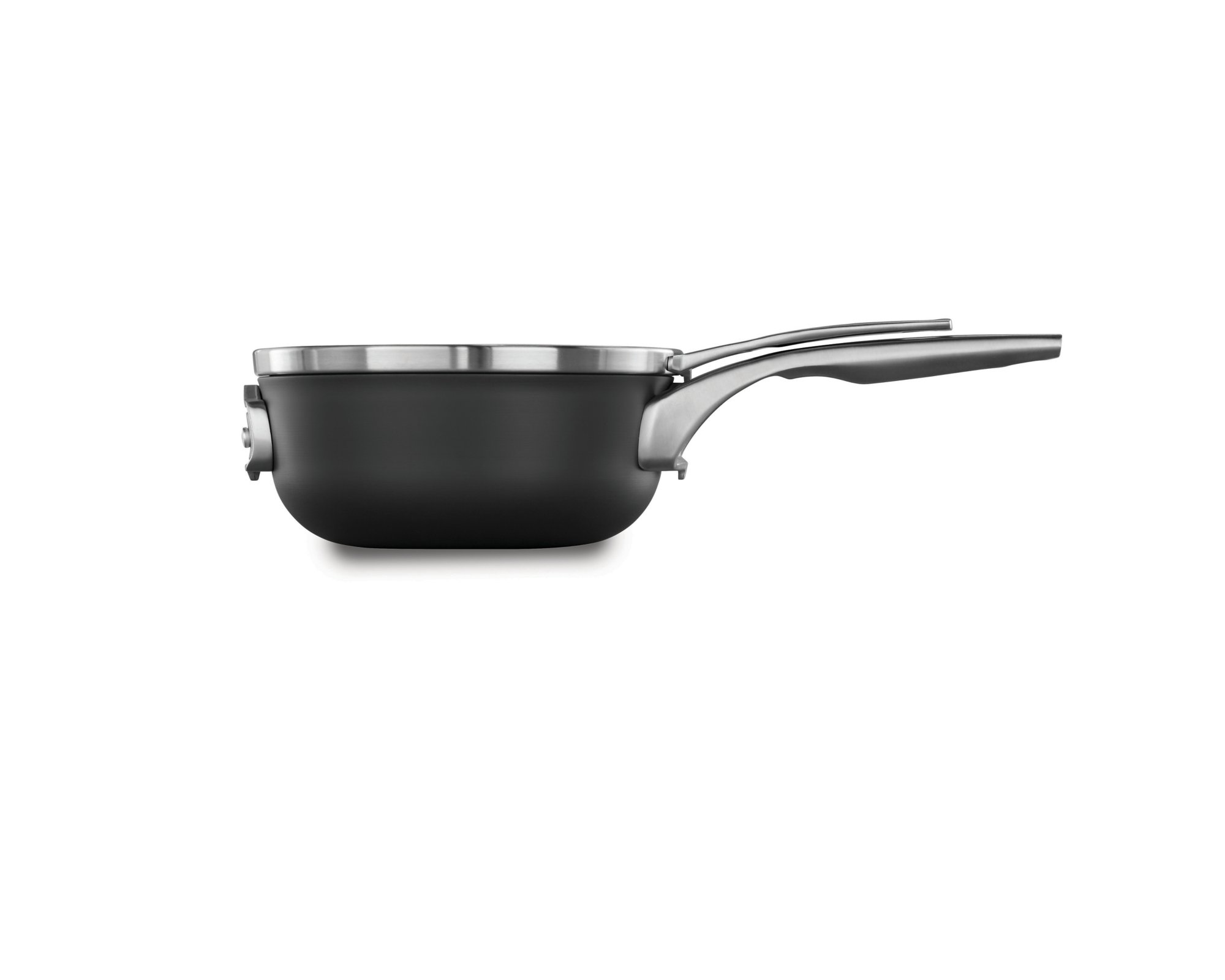 Calphalon Premier? Space Saving Hard Anodized Nonstick 2.5 qt. Chef's Pan with Cover