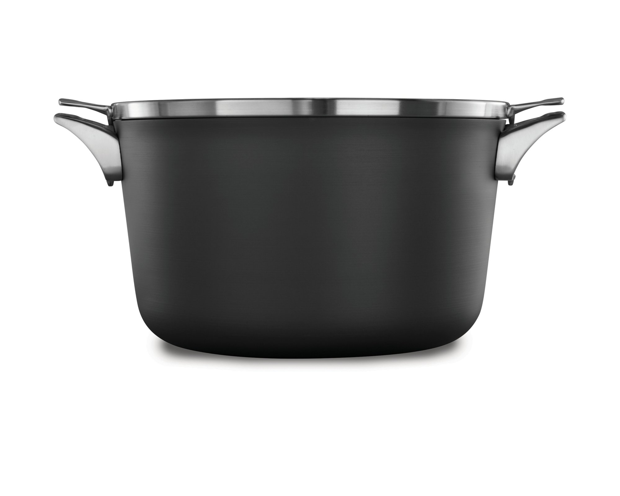 Calphalon Premier™ Space Saving Hard Anodized Nonstick 12 qt. Stock Pot with Cover