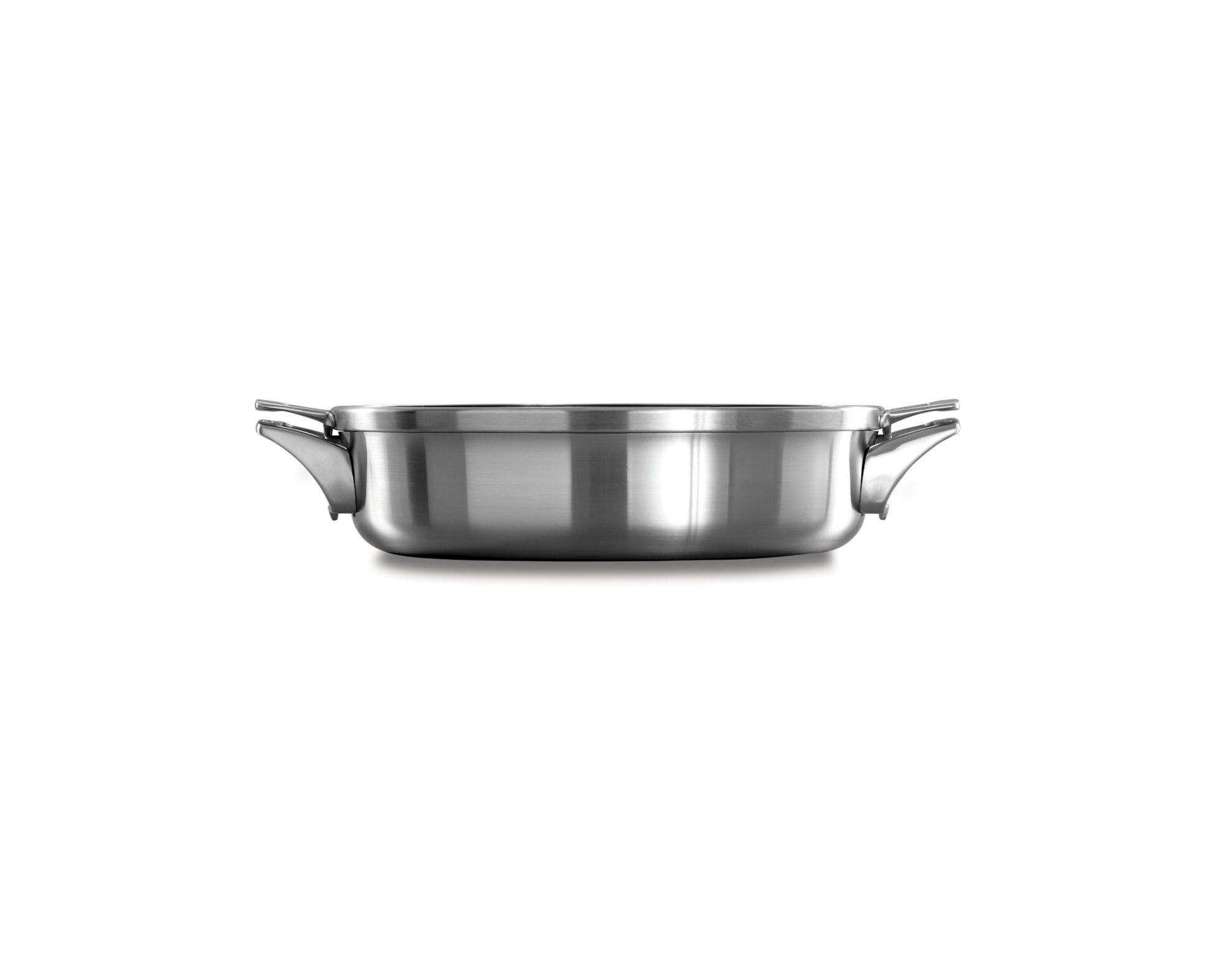Calphalon Premier™ Space Saving Stainless Steel 5 qt. Sauteuse with Cover