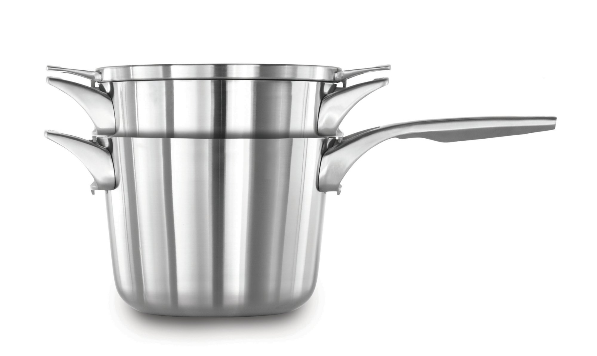 Calphalon Premier? Space Saving Stainless Steel 4.5 qt. Soup Pot with Cover
