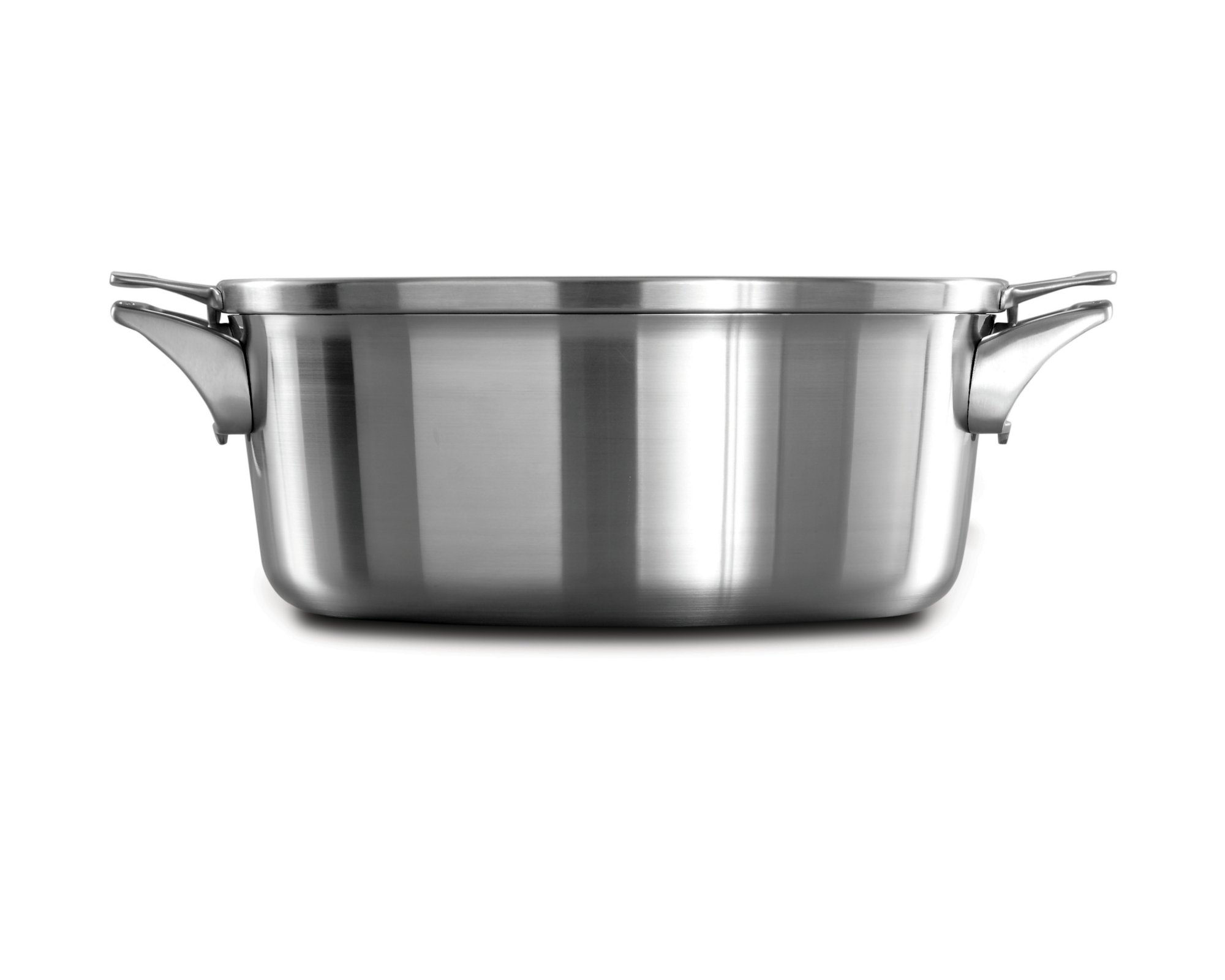 Calphalon Premier™ Space Saving Stainless Steel 8.5 qt. Dutch Oven with Cover