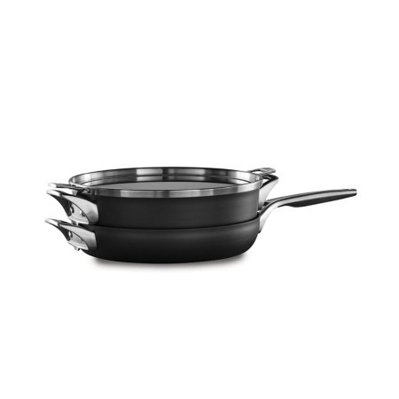 Calphalon Premier™ Space Saving Hard Anodized Nonstick 3-Piece 12-In. Stack Cookware Set