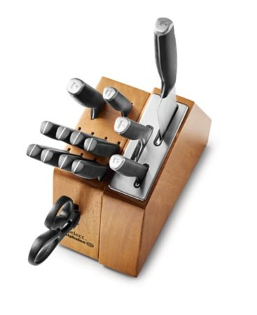 Select By Calphalon Self-Sharpening 15-Piece Cutlery Knife Block Set