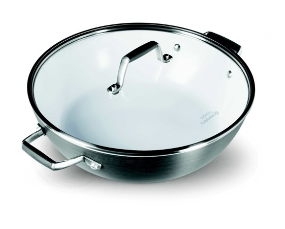 Select By Calphalon Hard-Anodized Ceramic Nonstick All Purpose Pan W/ Cover