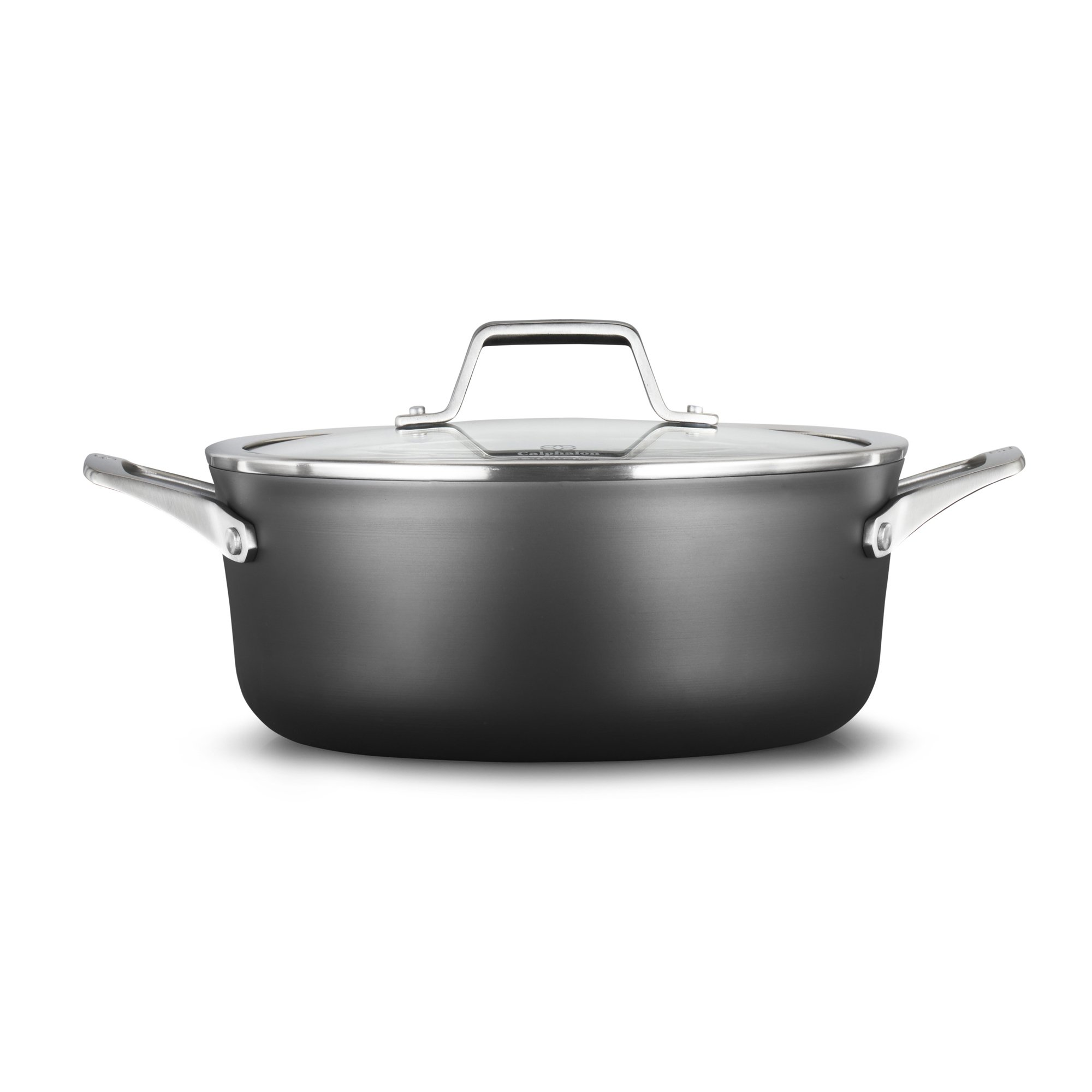 Calphalon Premier Hard-Anodized Nonstick 5-Quart Dutch Oven with Cover