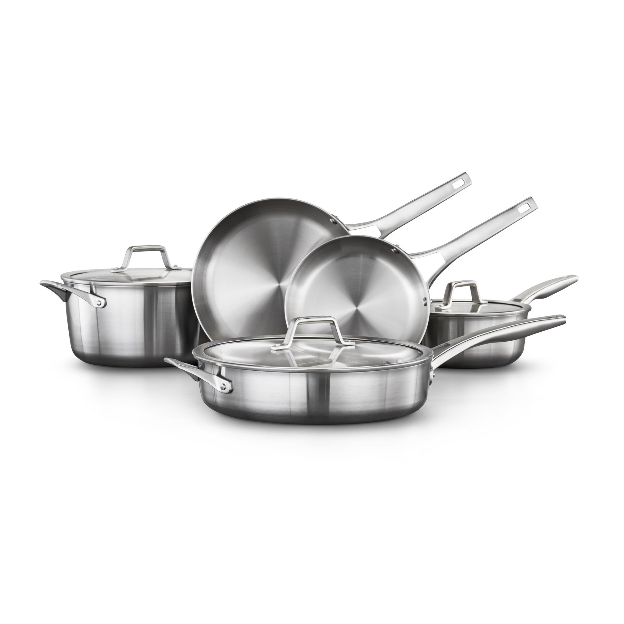 Calphalon Premier Stainless Steel 8-Piece Cookware Set
