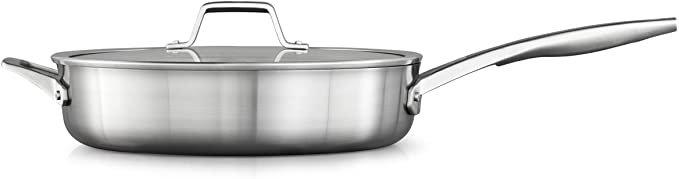 Calphalon? Premier Stainless Steel 5-Qt. Sauté Pan