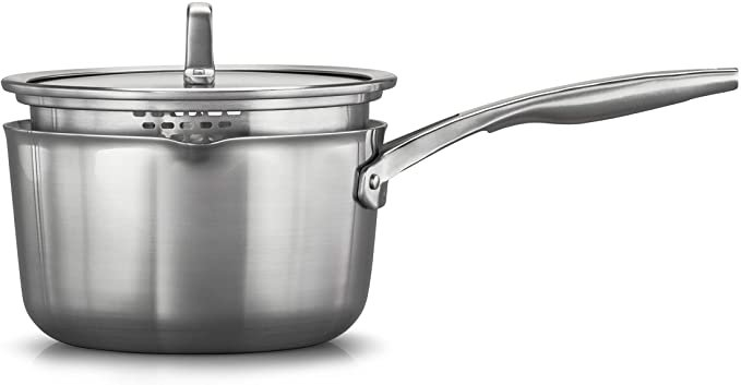 Calphalon Premier Stainless Steel 3.5-Qt Sauce Pan