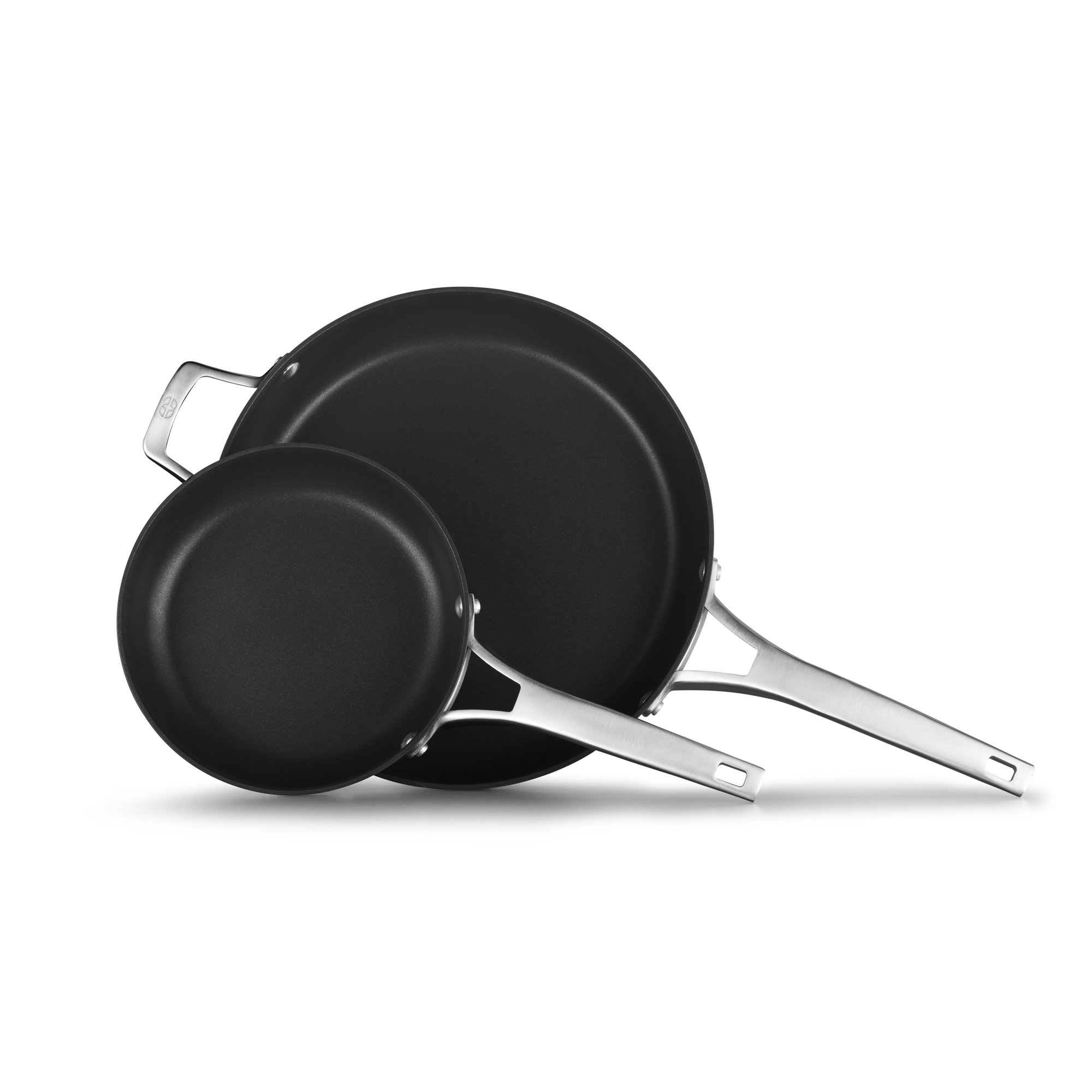 Calphalon Premier Hard-Anodized Nonstick 2-Piece 8-Inch and 12-Inch Frying Pan Set